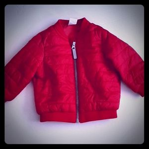 H&m Red bomber jacket